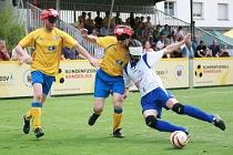Gastgeber des 3. Spieltages - das Team der SF Blau-Gelb Marburg