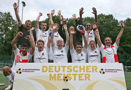 Deutscher Meister der Blindenfußball-Bundesliga 2009: MTV Stuttgart