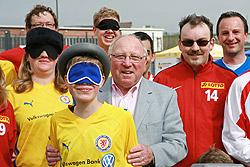Gern gesehener Gast: Ligaschirmherr und Stiftungskurator Uwe Seeler
