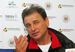 Nationaltrainer Ulrich Pfisterer