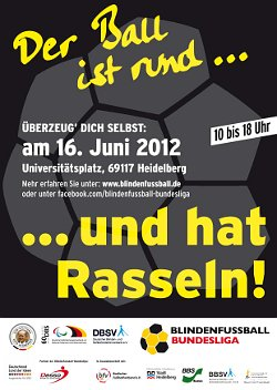 Blindenfussball in Heidelberg