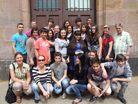 Als Volunteers dabei - die Humboldt-Werkrealschule