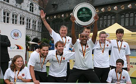 Rekordchampion der DBFL- das Team des MTV Stuttgart.