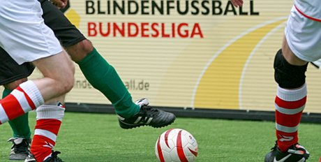 Seit 2008 etabliert - die Blindenfußball-Bundesliga