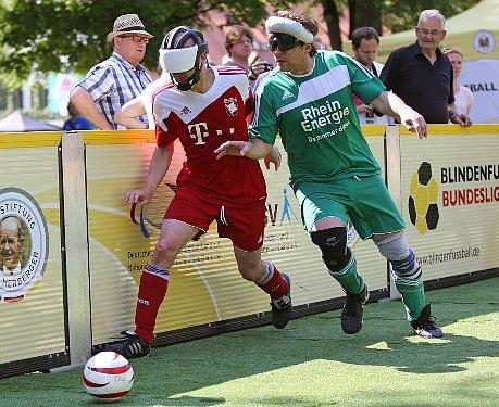 Top-Blindenfußball am vergangenen Wochenende in Düren