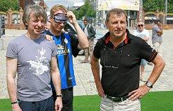Kommt mit seinem Team als Meister nach Stuttgart - Bundestrainer Ulrich Pfisterer (rechts)