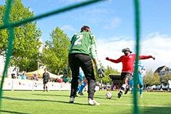 Auf Torejagd in Heidelberg - die DBFL-Teams