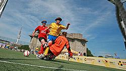 Packende Torszenen und spannende Zweikämpfe sind bei den DBFL-Spielen garantiert