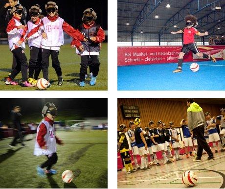 NEUE SPORTERFAHRUNG 2014 - Blindenfußball selbst erleben