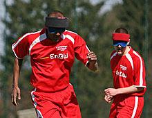 Eine sportliche Plattform für blinde und sehbehinderte Sportler, die es so europaweit nicht gibt.