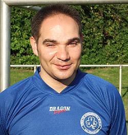 Selbst noch im Blindenfußball aktiv: Bayram Dogan