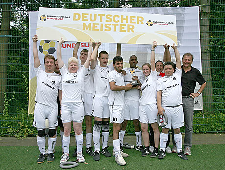 Das Team des Deutschen Meisters MTV Stuttgart