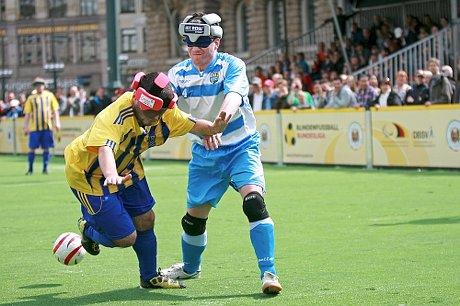 In Düren erfolgreich - die Blindenfußballer des Chemnitzer FC
