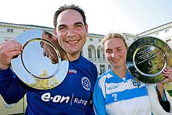Ausgezeichnet für ihr Engagement - der VfB Gelsenkirchen und der Chemnitzer FC