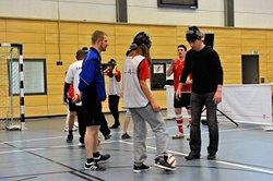 Fasziniert vom Blindenfußball - DFB-Trainer Steffen Freund