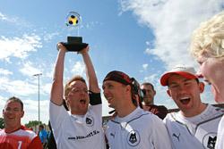 Sicherte sich vorzeitig den Meistertitel - das Team des MTV Stuttgart