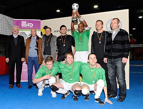 Auch in der Halle spitze - das Team des MTV Stuttgart