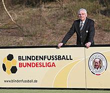 Karl Rothmund: Für viele blinde und sehbehinderte Menschen ist Fußball die größte Leidenschaft.