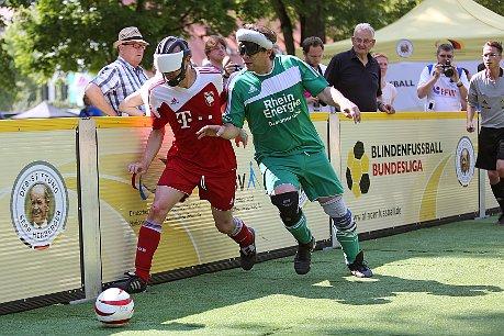 Spitzenleistungen im Blindenfußball am Wochenende in Düren