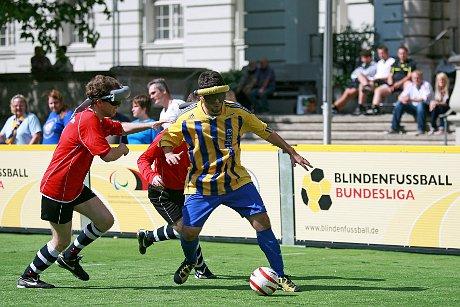 Umkämpfte Partie - Berlin und Braunschweig gegen Marburg