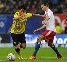 Serio correctivo del Dortmund al Hamburgo (1-5)